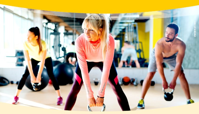 Functional Training mit Kettle-Bells - Pchlarn